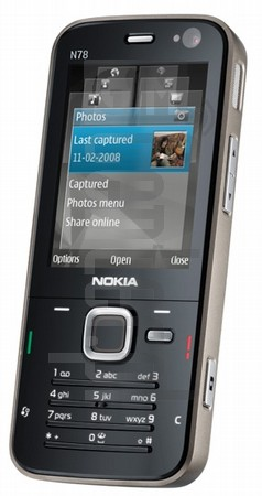 NOKIA N78 image on imei.info