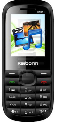KARBONN K101 PLUS MEDIA CHAMP image on imei.info