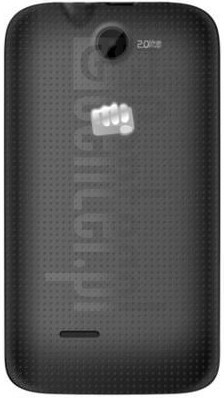 MICROMAX Bolt A37 image on imei.info