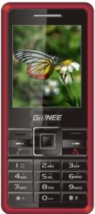 GIONEE N58 image on imei.info