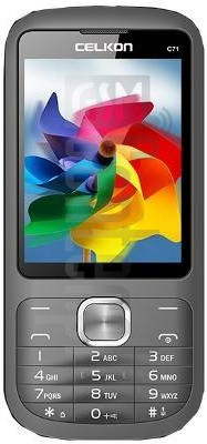 CELKON C71 image on imei.info