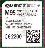 IMEI Check QUECTEL M95 Series on imei.info