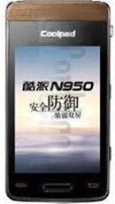 CoolPAD N950 image on imei.info