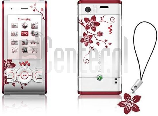 SONY ERICSSON W595 Flower Edition image on imei.info