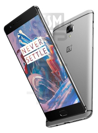 OnePlus 3 image on imei.info