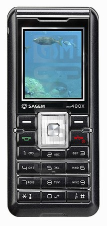 SAGEM MY 400x image on imei.info
