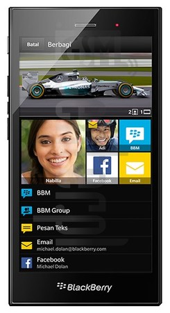 BLACKBERRY Z3 image on imei.info
