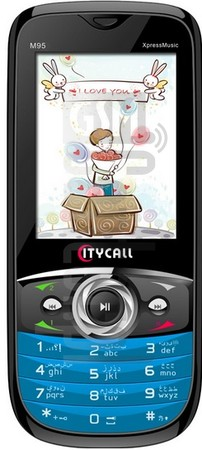 CITYCALL M95 image on imei.info