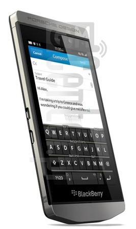 BLACKBERRY P'9982 Porsche Design image on imei.info