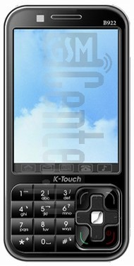 K-TOUCH B922 image on imei.info