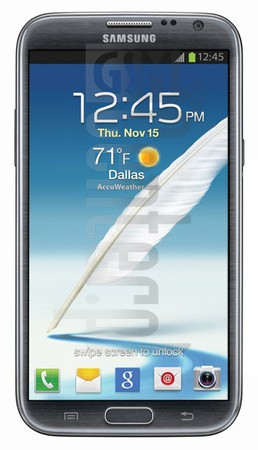 SAMSUNG R950 Galaxy Note II image on imei.info