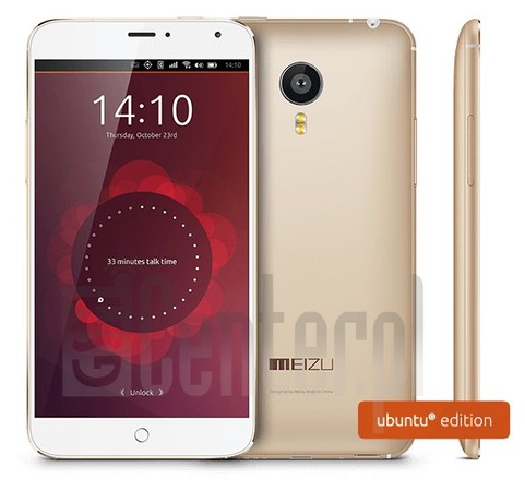 MEIZU MX4 Ubuntu Edition image on imei.info