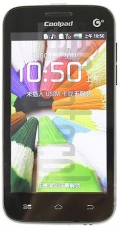 CoolPAD 8060 image on imei.info