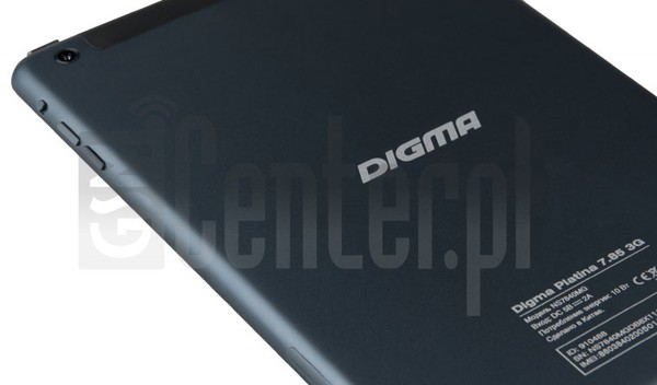 IMEI Check DIGMA Platina 7.85 3G on imei.info