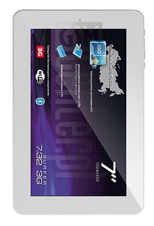 EXPLAY Surfer 7.32 3G image on imei.info