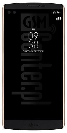 LG H901 V10 Specification - IMEI info