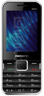 KARBONN K451 PLUS SOUND WAVE image on imei.info