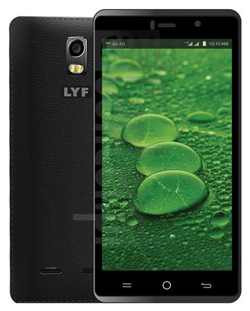 LYF Water 10 image on imei.info