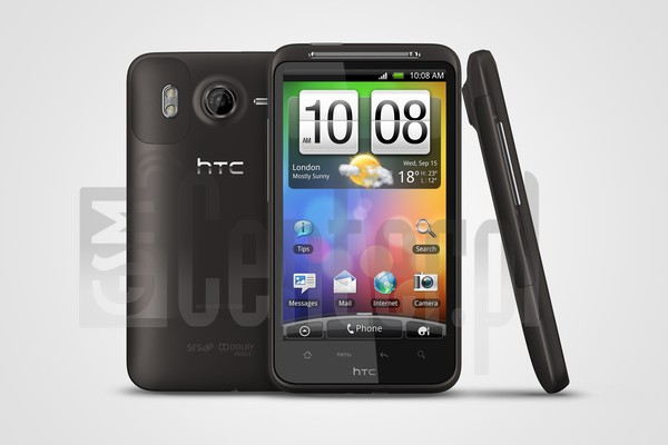 HTC Desire HD image on imei.info