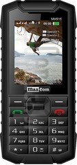 IMEI Check MAXCOM MM916 STRONG on imei.info