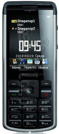 PHILIPS X333 Xenium Champion image on imei.info