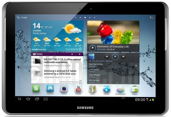 SAMSUNG T779 Galaxy Tab 2 10.1 (T-Mobile) image on imei.info