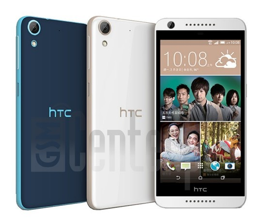 HTC Desire 626G+ image on imei.info