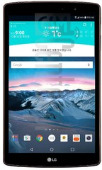 IMEI Check LG G Pad II 8.3 LTE on imei.info