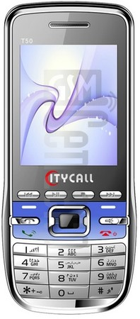 CITYCALL T50 image on imei.info