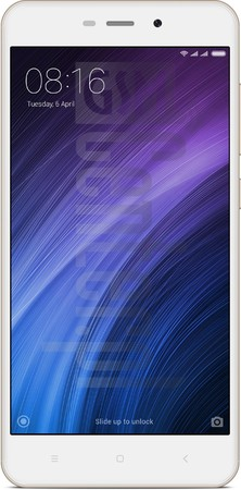XIAOMI Redmi 4A image on imei.info