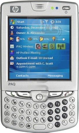 HP iPAQ hw6965 (HTC Sable) image on imei.info