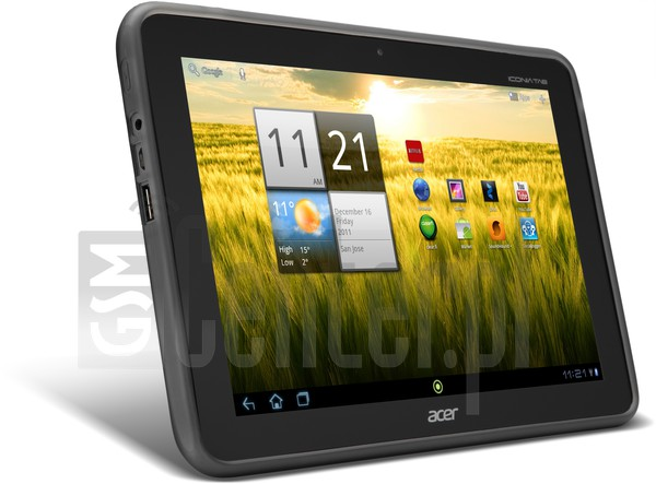 ACER A200 Iconia Tab image on imei.info