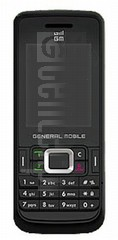 GENERAL MOBILE DST33 image on imei.info