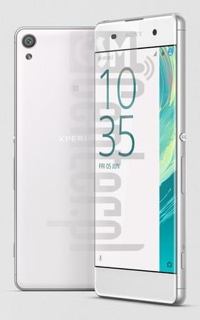 SONY Xperia XA Dual F3116 Specification - IMEI info