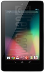 ASUS Google Nexus 7 image on imei.info
