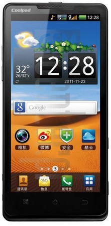 CoolPAD 9900 image on imei.info