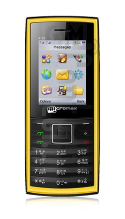 MICROMAX X103 image on imei.info