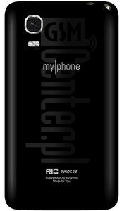 myPhone Rio Junior TV image on imei.info