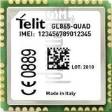 IMEI Check TELIT GL865-Quad V4 on imei.info