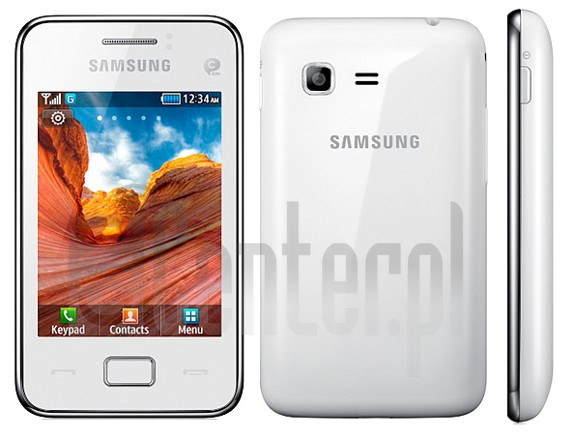 IMEI Check SAMSUNG S5220 Star 3 on imei.info