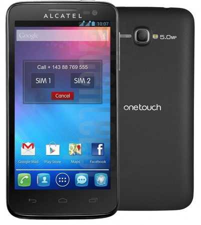 ALCATEL 5035D One Touch X'Pop image on imei.info
