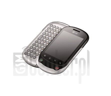 LG C550 Optimus Chat image on imei.info