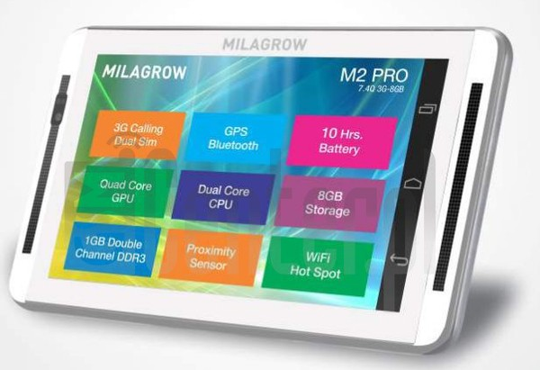 MILAGROW M2Pro 3G 8GB image on imei.info