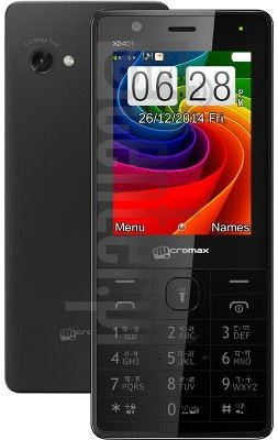 MICROMAX X2401 image on imei.info