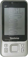 IMEI Check SIMTELEP Q7 on imei.info