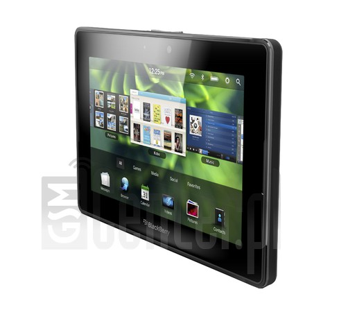BLACKBERRY PlayBook image on imei.info