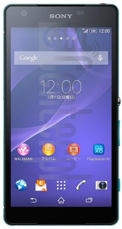 SONY Xperia Z2a D6563 image on imei.info