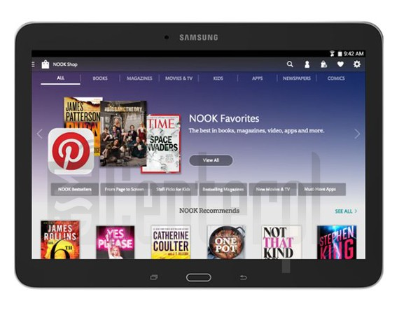 SAMSUNG T530 Galaxy Tab 4 Nook 10.1 image on imei.info