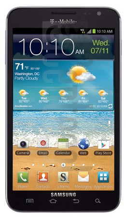 SAMSUNG T879 Galaxy Note image on imei.info