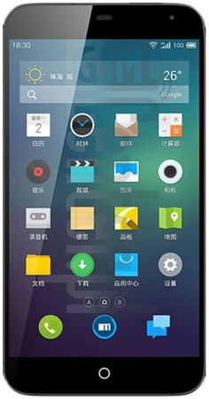 MEIZU MX3 image on imei.info